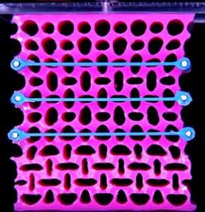 mechanical metamaterials martin van hecke pink rubber